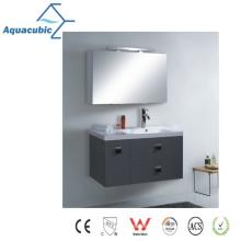 Классический настенный зеркальный шкаф для ванной комнаты (AME1103)