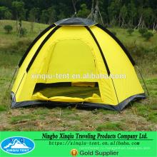 желтый купол палатки один слой