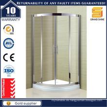 Los mejores recintos de ducha de cristal de esquina completos para baños