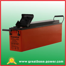 12V 80ah Front Terminal Gel Battery for Telecommunication System
