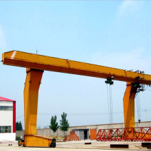 Goods high definition for Single Girder Crane 5-50/10t L-type Single Girder Gantry Crane supply to Bhutan Supplier