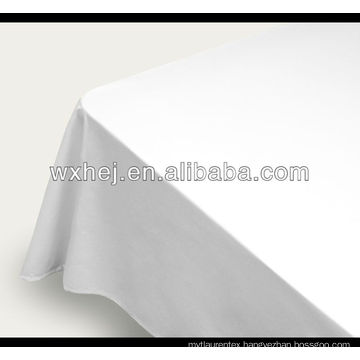 100% cotton plain white fabric for bed sheet in roll