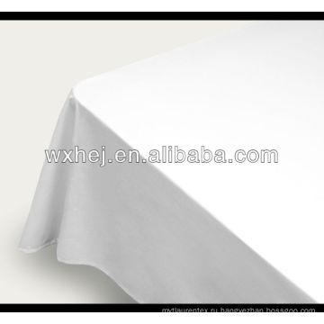 100% хлопка простой белой ткани для простыней в рулоне