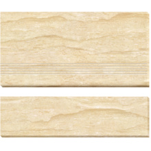 Double Loaded Polished Porcelain Stair-Tiles (AJ-7)