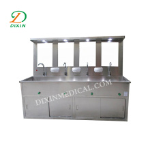 Stainless Steel Surgical Scrub Sink WIth Foot Pedal