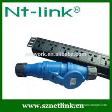 Shenzhen Netlink de alta qualidade fonte de alimentação confiável 6 way PDU
