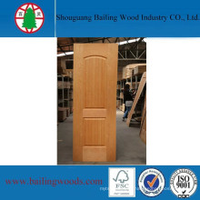 Natural Wood Veneer Plywood Molded Doorskin