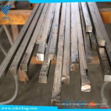 GB9787 2B e recozido AISI 321 diâmetro 14 milímetros * 14 milímetros barra quadrada de aço inoxidável
