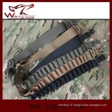 Pistolet militaire fronde Tactical Shotgun sangles 15rd fronde