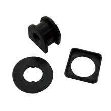 Черная резиновая шайба и прокладки с высоким качеством