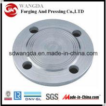 ANSI BS DIN En1092-1 JIS Flange de aço carbono