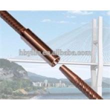 Acoplador rentable del hilo de la forma cónica de la barra de refuerzo para la construcción