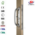 Brilliant White Prehung Left-Hand Clad-Wood Sliding Patio Door