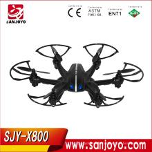 MJX X800 2.4G 4CH 6 Eixos Giroscópio 720 P FPV Set Fit 3D Rolando Modo Sem Cabeça RC Hexacopter RTF Pode Adicionar C4010 & C4005 FPV camera