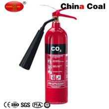 Extintor de fuego del CO2 de la seguridad 4.5K del acero de aleación de Jc-C2