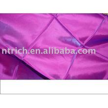 pintuck table cloth,taffeta table cloth,polyester table cover for wedding,banquet,hotel