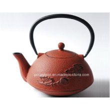 Embossed Cast Iron Teapot 1.0L