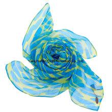 Lady Fashion impreso bufanda con color brillante para la señora