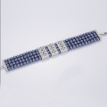 Ocean Blue Four Layers Pearl Bracelet