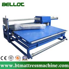 Полуавтоматический матрас ролл упаковки или упаковочная машина