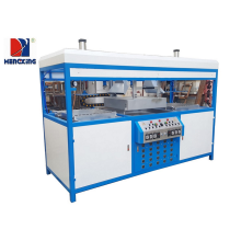Quality for Double Stations Vacuum Plastic Forming Machine PVC/PP Blister forming vacuum making machine for package supply to France Factory