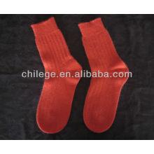 Kabel reine Kaschmir gestrickte Socken