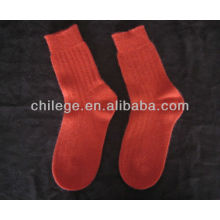 cable pure cashmere knitted socks