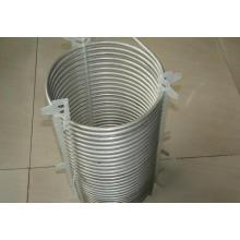 Aço inoxidável, sem emenda, tubo, bobina