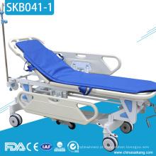 Trole médico do salvamento da emergência do transporte paciente do hospital SKB041-1