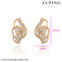 29754-Xuping Jewelry Fashion Hot Sale 18K Gold Plated Earrings