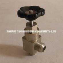 Válvula de retención manual tipo aguja YSF-16 de globo