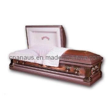 E.U. estilo caixão de cobre sólido (14H 4002)