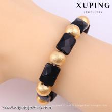 Bracelets perlés de mode de Xuping bracelets avec des bracelets en or 18k -51490