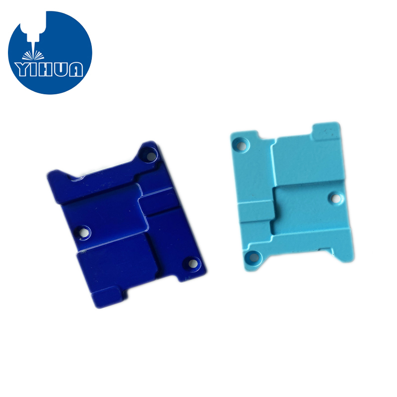 Blue Powder coating aluminum Part