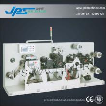 Jps-320s autoadhesivo preimpreso de etiquetas de corte intermitente y Rotary Die Cutting Machine
