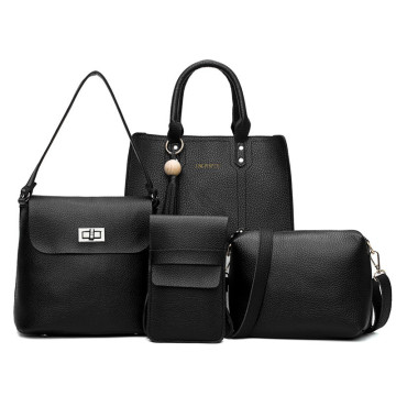 โมเดลใหม่ superfibrin leather lady hand bag