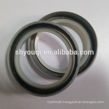 Salt water used silicone rubber oil seal with good resistance temperature