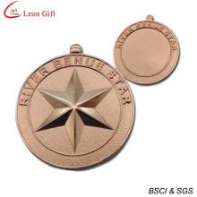 Günstige individuelle Kupfer militärische Medaille (LM1263)