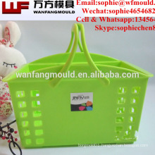 custom made injection plastic basket mould for OEM marketing basket plastic kitchen basket mold