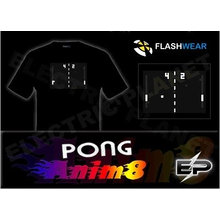 [Super Deal]Wholesale fashion hot sale T-shirt A17,el t-shirt,led t-shirt