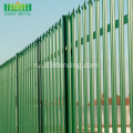 Factory+Powder+Coated+Steel+Palisade+Fence+for+Sale