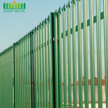 Venta al por mayor Steel Palisade Fence Designs
