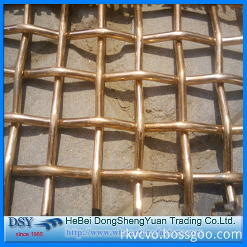 Cooper Crimped Wire Mesh for Sales