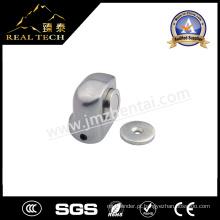Alça de zinco de aço inoxidável Rolha de porta magnética para porta de vidro