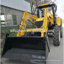 Gartentraktor Frontlader in Deutsch weit verbreitet