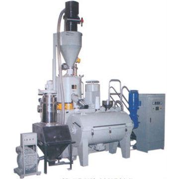 horizontal mixing machine for plastic industry