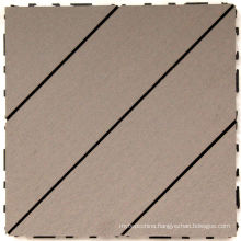 Interlocking WPC Deck Tiles