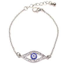 Bracelete de diamantes cheio de olhos maus (xbl13497)