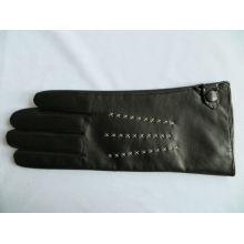 2013 heiße Verkauf reife Damelederoberseitenhandschuhe