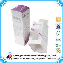 Handgemachte kundenspezifische Parfümproben des kundenspezifischen Entwurfs, die verpacken